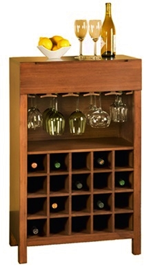 Orchid Wine Cabinet by Greenington Bamboo Furniture