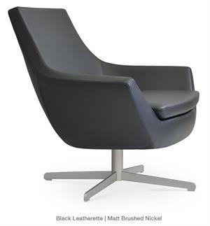 Soho Concept Rebecca Armchair 4 Star Base Lounge Chair