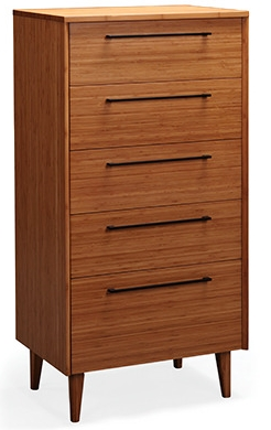 Five Drawer Chest Sienna Greenington Bamboo Bedroom Furniture