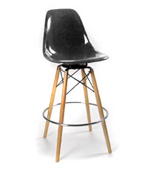 wood swivel barstool base only modernica dowel stool base swivel base barstool modernica barstool base only seat not included