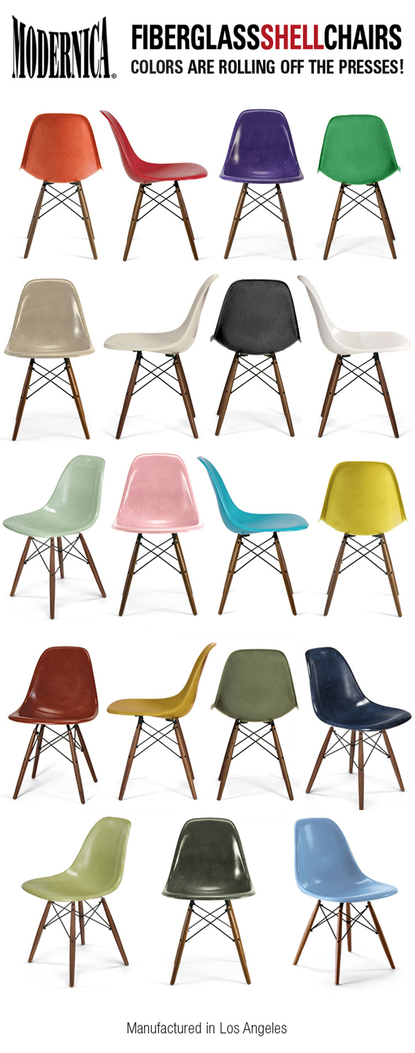 Charmant Fiberglass Shell Colors Modernica