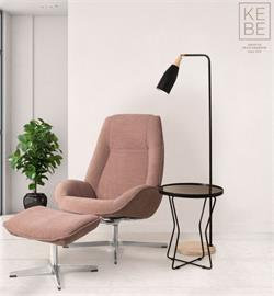 Kebe Fabric Recliners Denmark