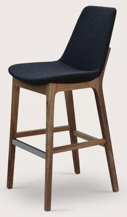 Soho Concept Eiffel Wood Prw Counter Stool Barstool