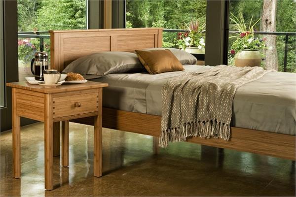 Hosta Platform Bed Greenington Bamboo Platform Bed King Queen