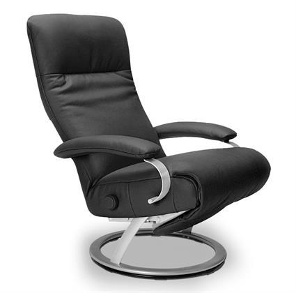Swivel Recliner Chair Blue