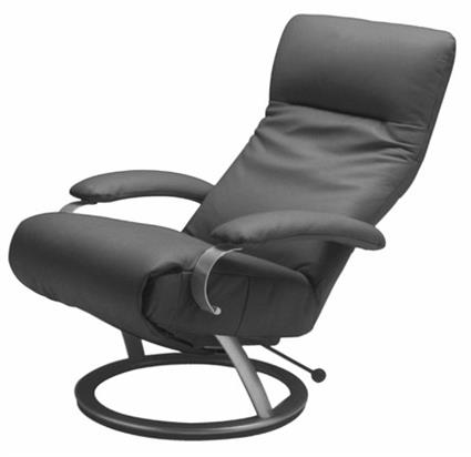 grey leather recliner. Grey Leather Recliner B