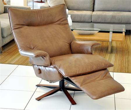 Lafer Valentina Recliner Chair Leather Luxury Lafer Swivel