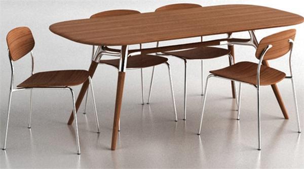 Montreal Dining Table Greenington Bamboo Room Furniture