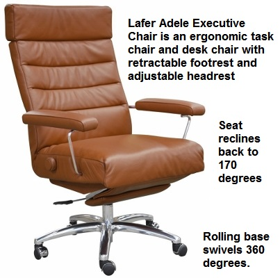 Lafer Adele Executive Recliner Chair Adele Lafer Executive