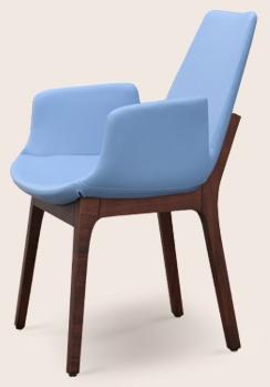 An Eiffel Wood Armchair Dining Chair Soho Concept