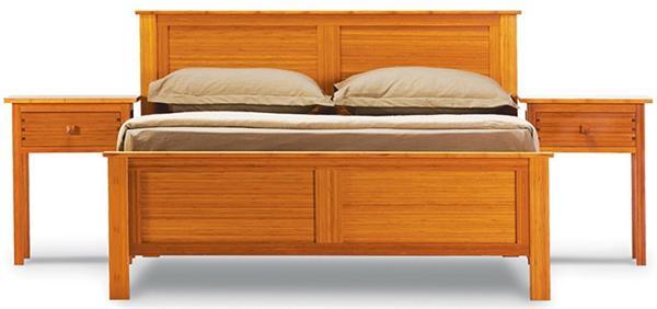 Bed Hosta Platform Bed Greenington Bamboo Bedroom Furniture