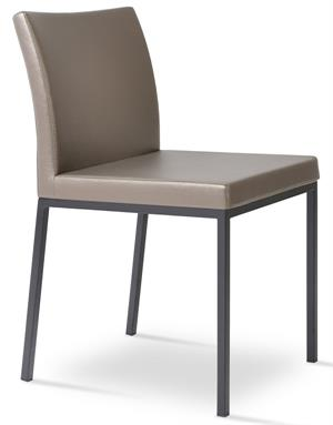 Aria Parsons Dining Chair Aria Chrome Soho Concept
