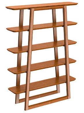 Currant Book Shelf Greenington Bamboo Furniture Shelving