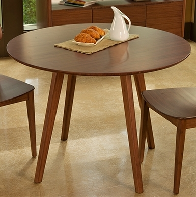 Currant Dining Table Round Greenington Bamboo Dining Furniture