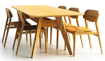 Currant Dining Table Extendable Greenington Bamboo Furniture