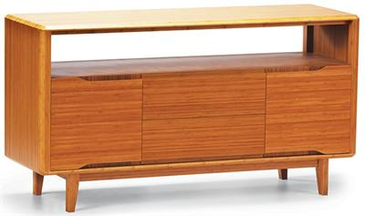 Currant Media Unit Sideboard Greenington Bamboo Furniture
