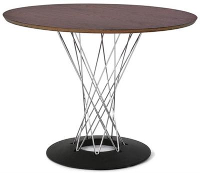 "Dining Table Noguchi Cyclone Table 42"" Modernica"