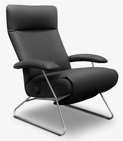 Modern Recliner Chair Demi Lafer Leather Luxury Recliners of Brazil