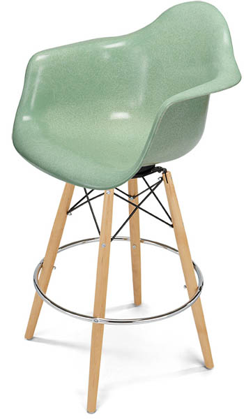 A Barstool Case Study Arm Shell Dowel Bar Stool Counter Stool
