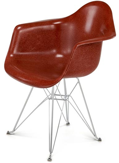 Modernica Fiberglass Case Study Arm Shell Eiffel Chair