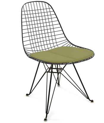 Modernica Case Study Wire Chair Seat and Case Study Eiffel Base