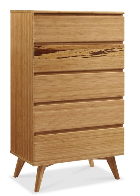 Greenington Azara Five Drawer Chest of Drawers Bedroom Furniture