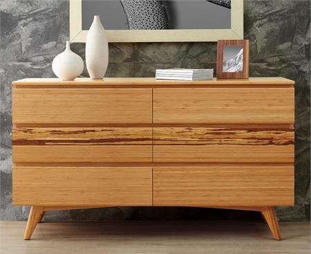 Azara Dresser Six Drawers Greenington Bamboo Bedroom Furniture