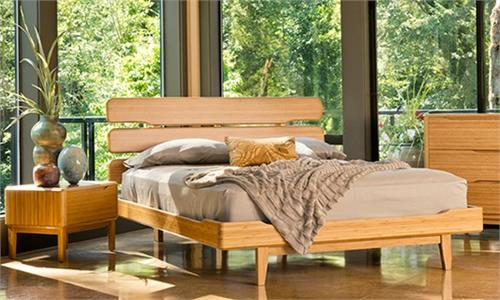 Bed Currant Platform Bed Greenington Bamboo Platform bed