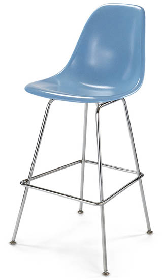 Modernica Case Study Side Shell H Base Counter Stool Fiberglass
