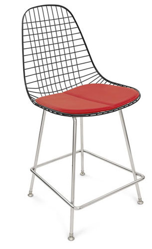 Case Study Wire Chair Hbase Counter Stool and Barstool Modernica