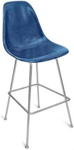 "A Case Study Side Shell H Base Barstool 30"" Bar Height Modernica"