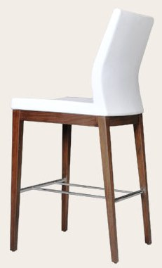 Pasha Wood Counter Stool Barstool Soho Concept Furniture