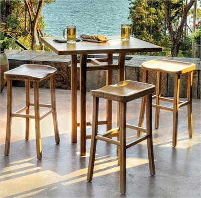 Counter Stool Barstool Tulip Greenington Bamboo Bar Stools