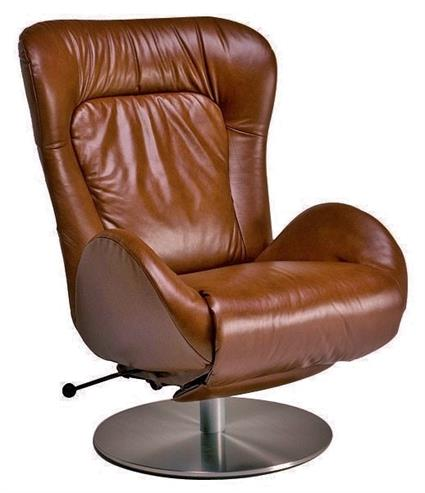 Swivel Amy Recliner DISCONTINUED Leather Recliner Amy