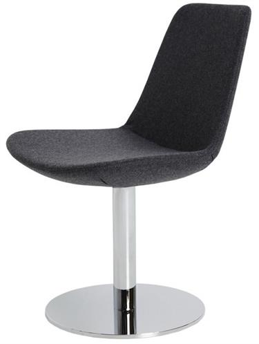 Soho Concept Eiffel Round Dining Chair Swivel Chair