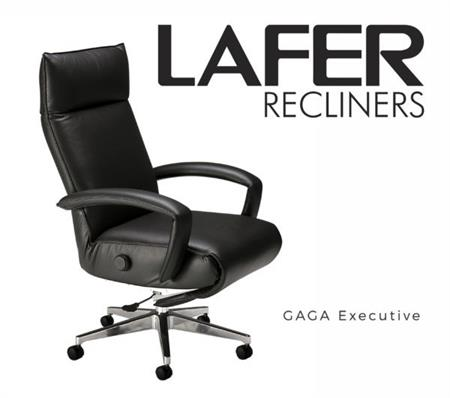 Lafer Gaga Executive Recliner Chair Office Recliner Lafer Brazil