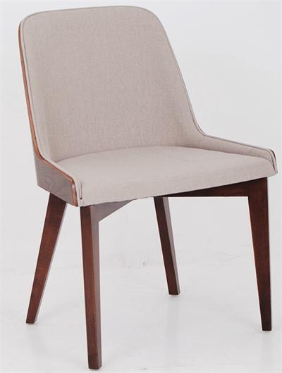 Hudson Plywood Side Chair Wood Base by Nuans Design