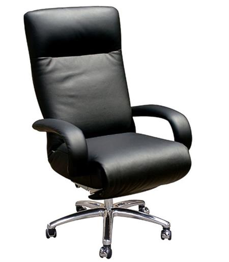 Lafer Kiri Executive Recliner Leather Office Recliner