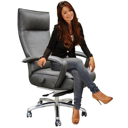Lafer Gaga Executive Recliner Chair Leather Office Recliners
