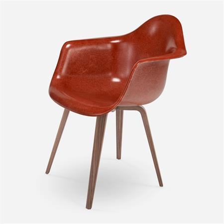 Case Study Arm Shell Spyder Modernica Fiberglass Chair