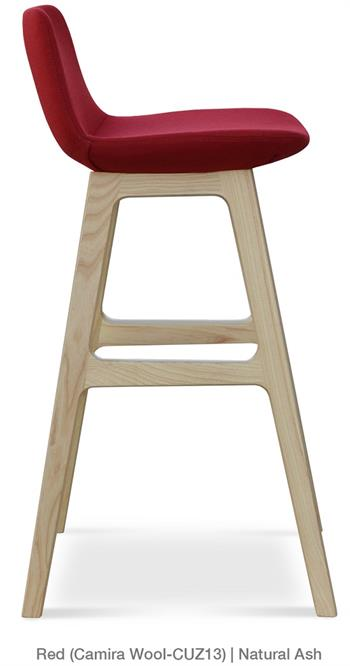 Soho Concept Pera Wood Counter Stool Barstool