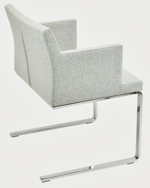 Soho Flat Armchair Dining Chair Soho Concept Furniture