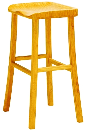 Tulip Counter Stool Barstool Greenington Bamboo Bar Furniture