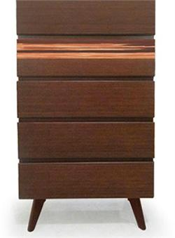Azara Five Drawer Chest Greenington Azara Bedroom Collection