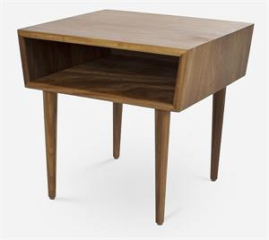 African Teak Bedside Table by Modernica Furniture