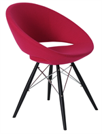 Crescent MW Chair Metal Base - Soho Concept Furniture