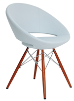 Crescent Metal MW Dowel Base Chair - Soho Concept Furniture