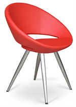 Crescent Star Chair Metal Base - Soho Concept Furniture