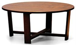 Daisy Coffee Table Round Greenington Bamboo Furniture