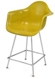 "Modernica Case Study Arm Shell H Base 25"" Counter Stool"